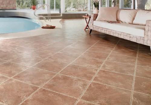 Vinyl flooring hard wearing and water resistant for Hard vinyl floor tiles